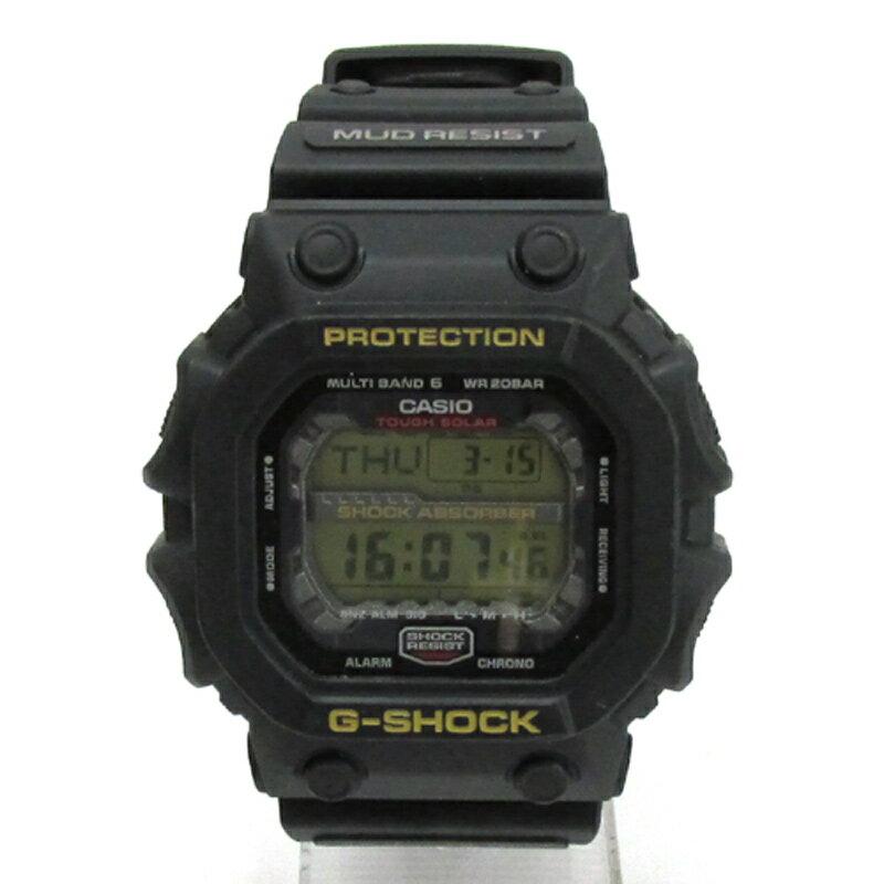 CASIO カシオ G-SHOCK ジーショック 腕時計/品番:GXW-56/カラー:ブラック/タフソーラー/電波ソーラー《腕時計/ウォッチ》【服飾小物】【中古】【山城店】