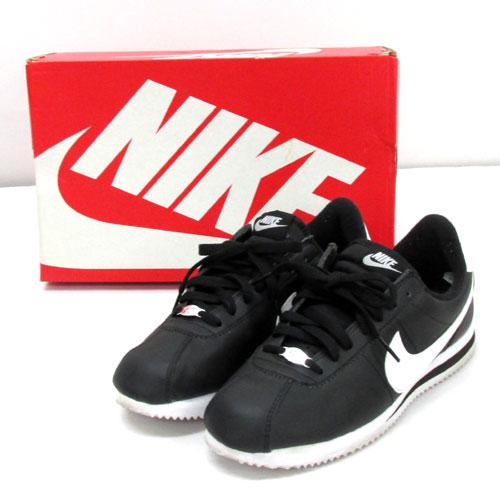 【中古】【メンズ古着】NIKE ナイキ CORTEZ BASIC LEATHER コルテッツ ベーシック レザー /品番:819719012/26.5cm/黒/スニーカー/靴 シューズ/【山城店】