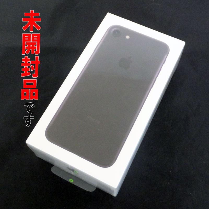 ★未開封品です!SoftBank Apple iPhone7 32GB MNCE2J/A ブラック【中古】【白ロム】【 355335086128346】【利用制限: ○】【スマホ】【山城店】