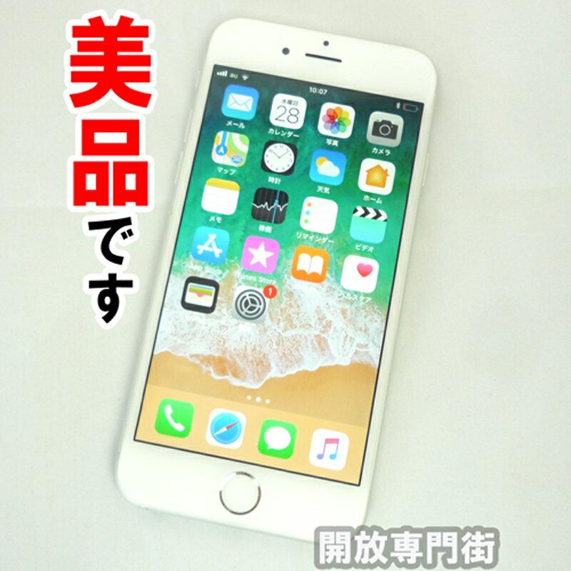 au Apple iPhone6 64GB NG4H2J/A シルバー【中古】【白ロム】【 355408075017810】【利用制限: ○】【iOS 11.2.6】【スマホ】【山城店】