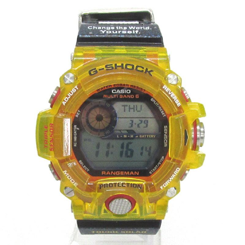 CASIO カシオ G-SHOCK ジーショック 腕時計/品番:GW-9403KJ-9JR/カラー:イエロー/電波ソーラー《腕時計/ウォッチ》【服飾小物】【中古】【山城店】