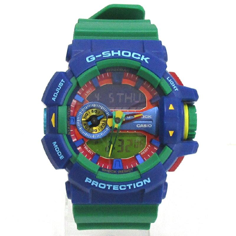 CASIO カシオ G-SHOCK ジーショック 腕時計/品番:GA-400-2A/カラー:マルチカラー/クオーツ《腕時計/ウォッチ》【服飾小物】【中古】【山城店】