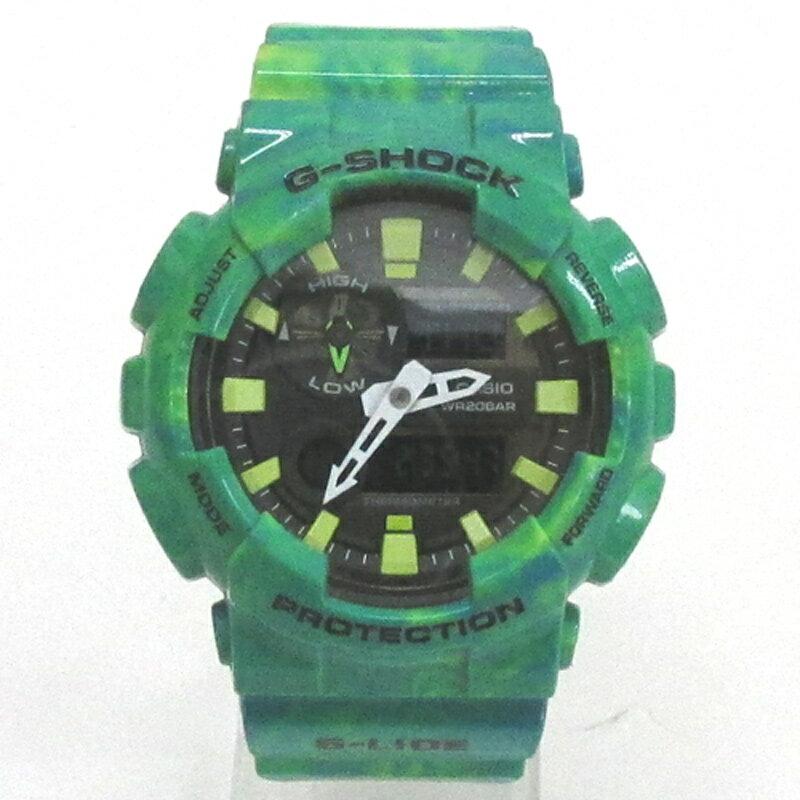 CASIO カシオ G-SHOCK ジーショック 腕時計/品番:GAX-100MB/カラー:グリーン/クォーツ/《腕時計/ウォッチ》【服飾小物】【中古】【山城店】