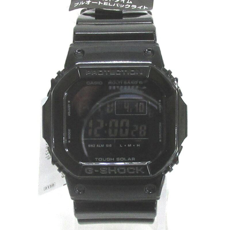 CASIO カシオ G-SHOCK ジーショック 腕時計/品番:GW-M5610BB/カラー:ブラック/電波ソーラー《腕時計/ウォッチ》【服飾小物】【中古】【山城店】
