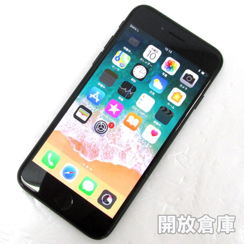 au Apple iPhone7 128GB MNCP2J/A ジェットブラック【中古】【白ロム】【 359182075160591】【利用制限: ○】【iOS 11.2.6】【スマホ】【山城店】