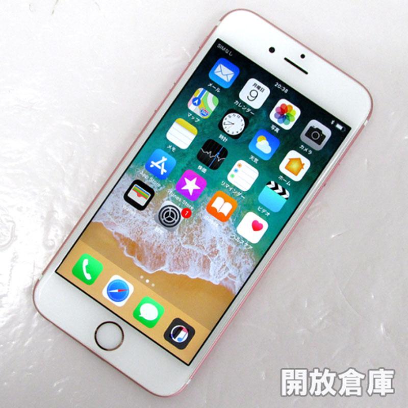 docomo Apple iPhone6S 16GB MKQM2J/A ローズゴールド【中古】【白ロム】【 355689073194830】【利用制限: ○】【iOS 11.2.6】【スマホ】【山城店】