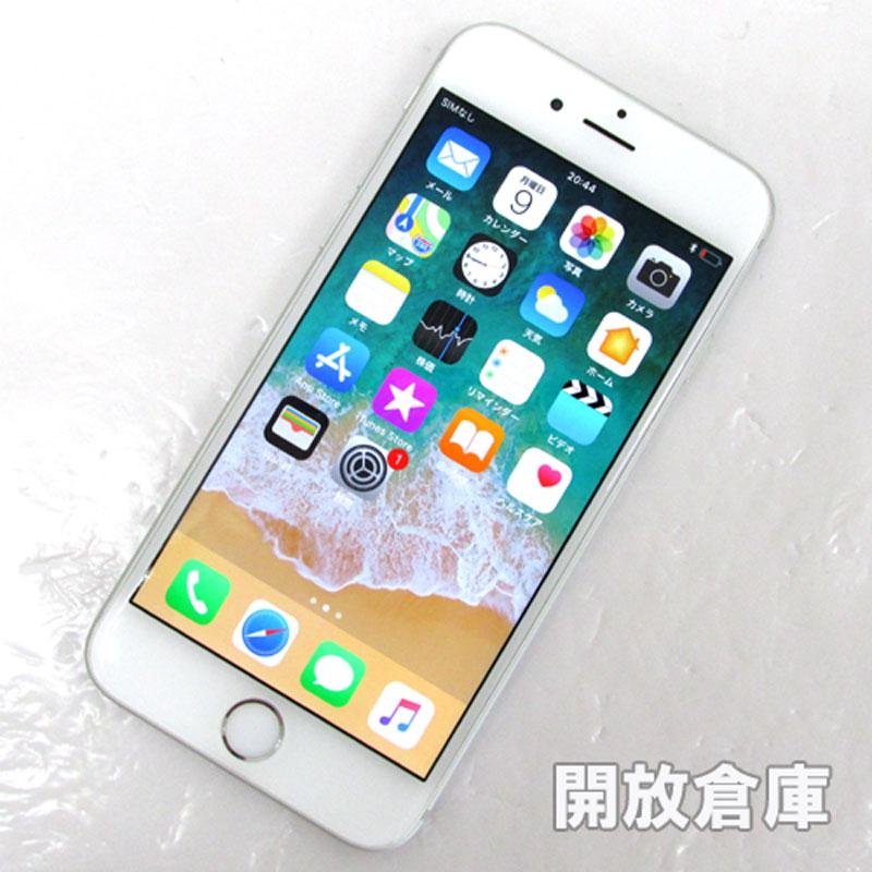 docomo Apple iPhone6 16GB MG482J/A シルバー【中古】【白ロム】【 353322072574214】【利用制限: ○】【iOS 11.2.6】【スマホ】【山城店】