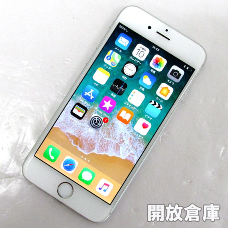 au Apple iPhone6 16GB MG482J/A シルバー【中古】【白ロム】【 358375060039769】【利用制限: ○】【iOS 11.2.6】【スマホ】【山城店】