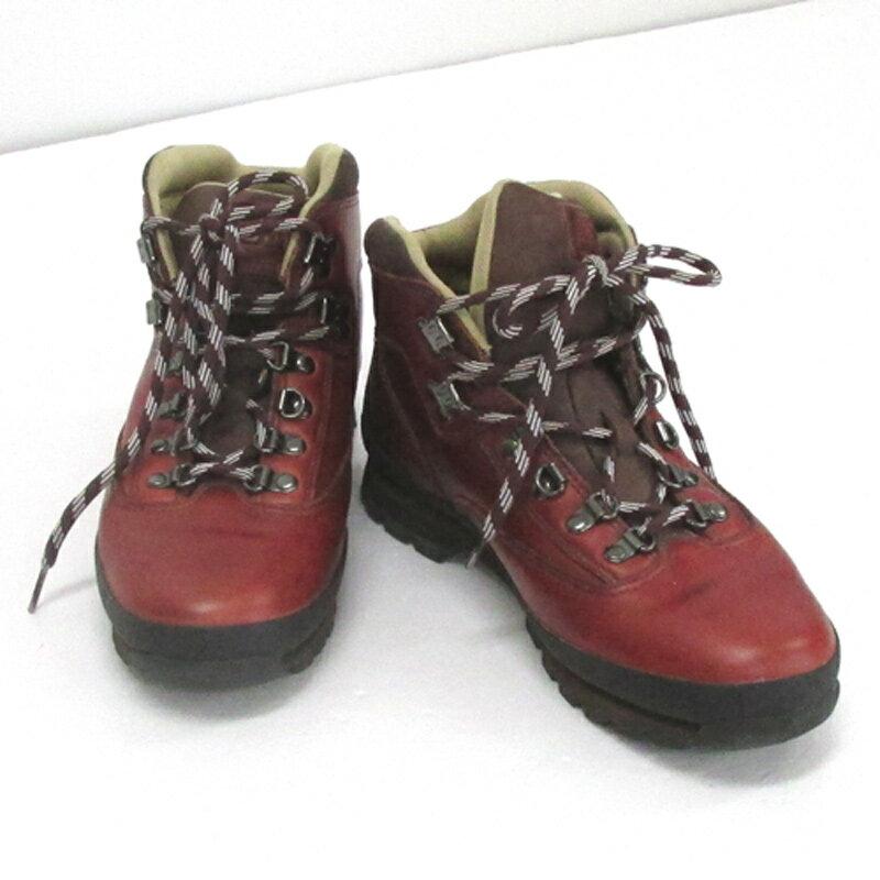 【中古】【メンズ古着】Supreme × Timberland シュプリーム×ティンバーランド EURO Hiker/26.5cm/ブラウン系/スニーカー/靴 シューズ【山城店】