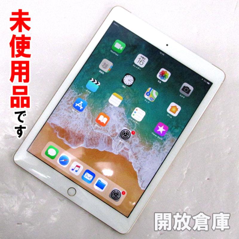 docomo版 Apple iPad Wi-Fi + Cellular 128GB ゴールド MPG52J/A 【中古】【利用制限:▲】【iOS 11.1】【タブレットPC】【山城店】