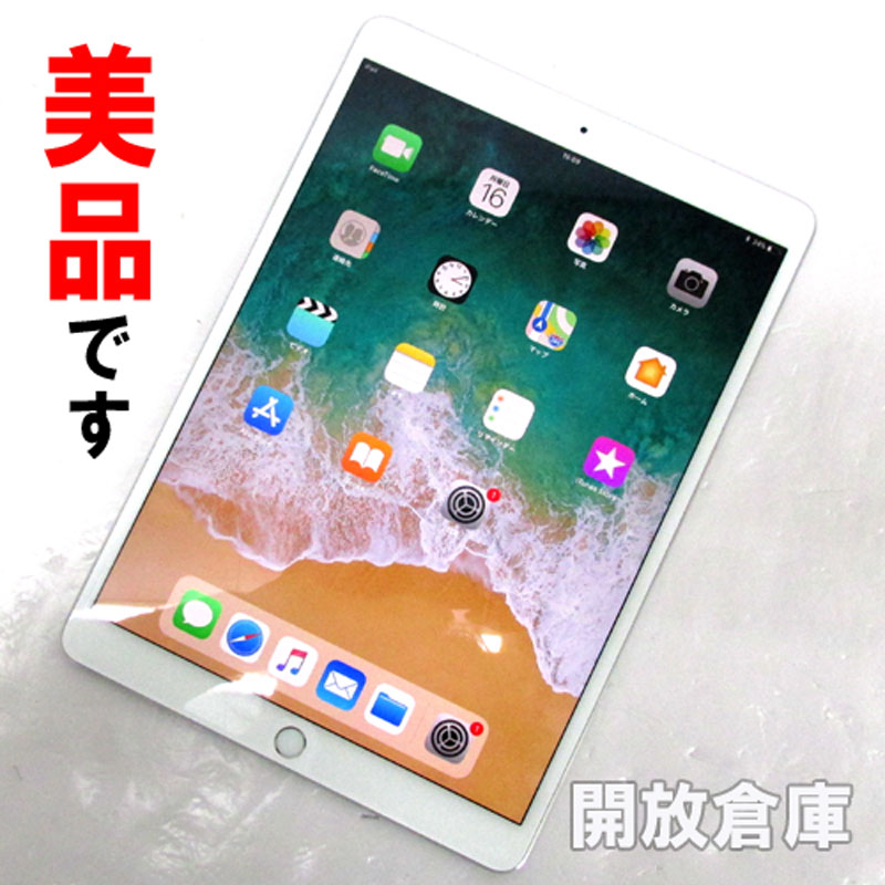 softbank版 Apple iPad Pro Wi-Fi + Cellular 10.5インチ 256GB シルバー MPHH2J/A 【中古】【利用制限:▲】【iOS 11.2.2】【タブレットPC】【山城店】