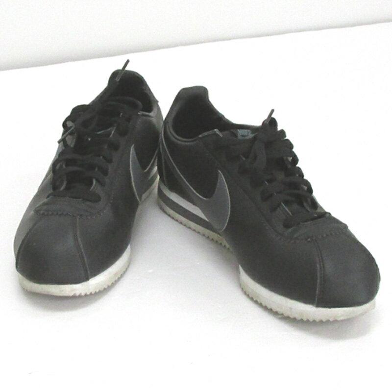 【中古】【メンズ古着】NIKE ナイキ CLASSIC CORTEZ LEATHER クラシックコルテッツレザー/サイズ:28.5cm/カラー:ブラック/スニーカー/靴 シューズ【山城店】