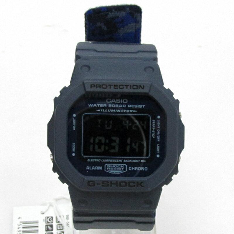 CASIO カシオ G-SHOCK ジーショック 腕時計/品番:DW-5600LU/カラー:ネイビー/クォーツ 《腕時計/ウォッチ》【服飾小物】【中古】【山城店】