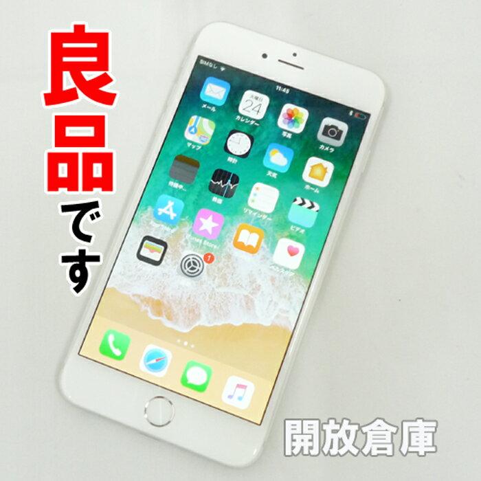 ★良品です au Apple iPhone6 Plus 128GB MGAE2J/A シルバー【中古】【白ロム】【 354435060278892】【利用制限: ○】【iOS 11.2.2】【スマホ】【山城店】