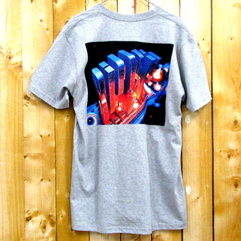 【中古】【メンズ古着】Supreme シュプリーム Skyscraper Tee 半袖 Tシャツ サイズ:L/カラー:グレー/16AW/ストリート【山城店】