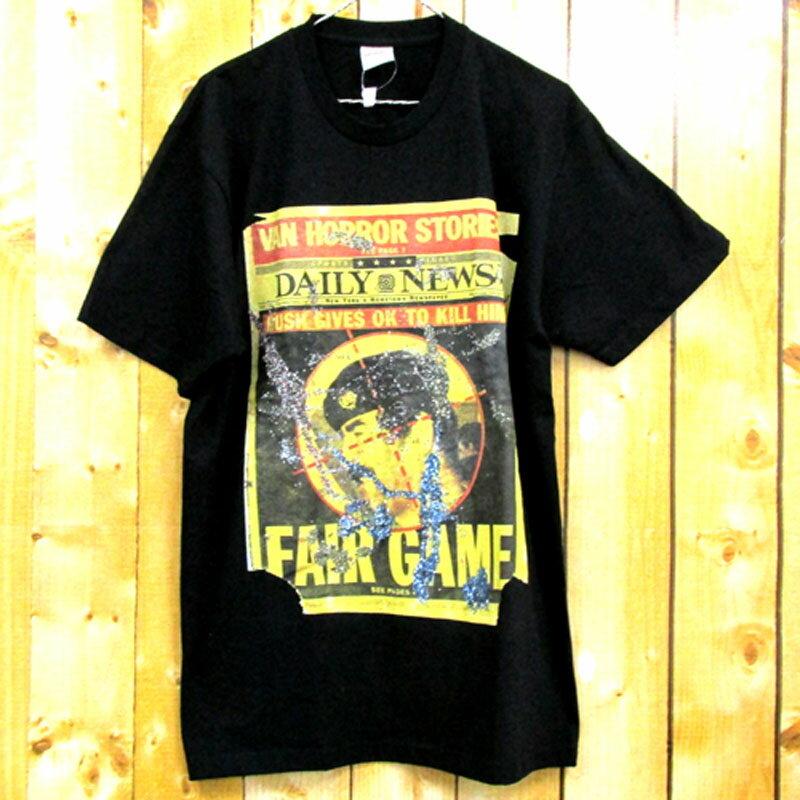 【中古】【メンズ古着】Supreme シュプリーム Dash Snow Tee 半袖 Tシャツ サイズ:L/カラー:BLACK/16AW/ストリート【山城店】