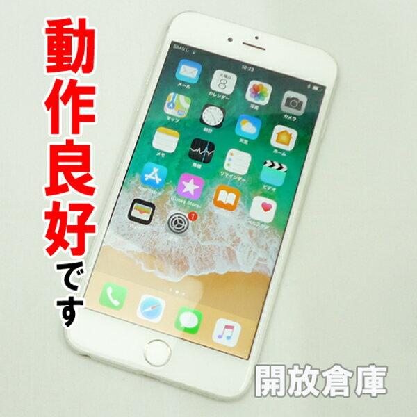 【中古】動作良好です au Apple iPhone6 Plus 64GB NGAJ2J/A シルバー【白ロム】【352045070210009】【利用制限: ○】【iOS 11.2.6】【スマホ】【山城店】