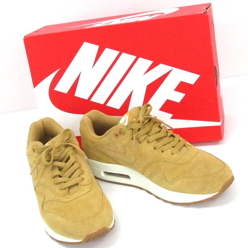 【中古】【メンズ古着】NIKE ナイキ AIR MAX1 PREMIUM エアマックスプレミアム 品番:875844-203/サイズ:27.5/黄色 系/スニーカー/靴 シューズ【山城店】