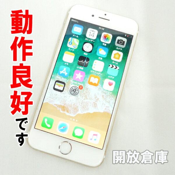 【中古】動作良好です Softbank Apple iPhone6 64GB MG4J2J/A ゴールド【白ロム】【356976060423630】【利用制限: ○】【iOS 11.3.1】【スマホ】【山城店】