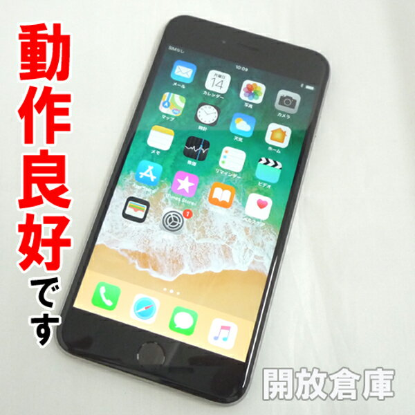【中古】動作良好 docomo Apple iPhone6 Plus 64GB MGAH2J/A スペースグレイ【白ロム】【354383067935215】【利用制限: ○】【iOS 11.2.6】【スマホ】【山城店】