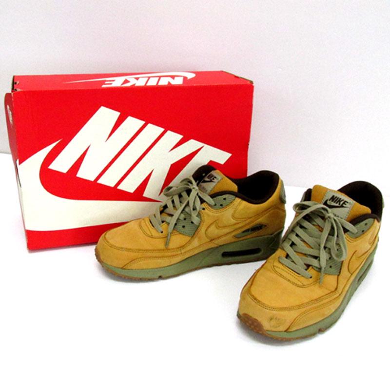 【中古】【メンズ古着】NIKE ナイキ AIR MAX 90 WINTER PRM エアマックス ウィンター/27.5cm/ブラウン 系/683282-700/スニーカー/靴 シューズ【山城店】