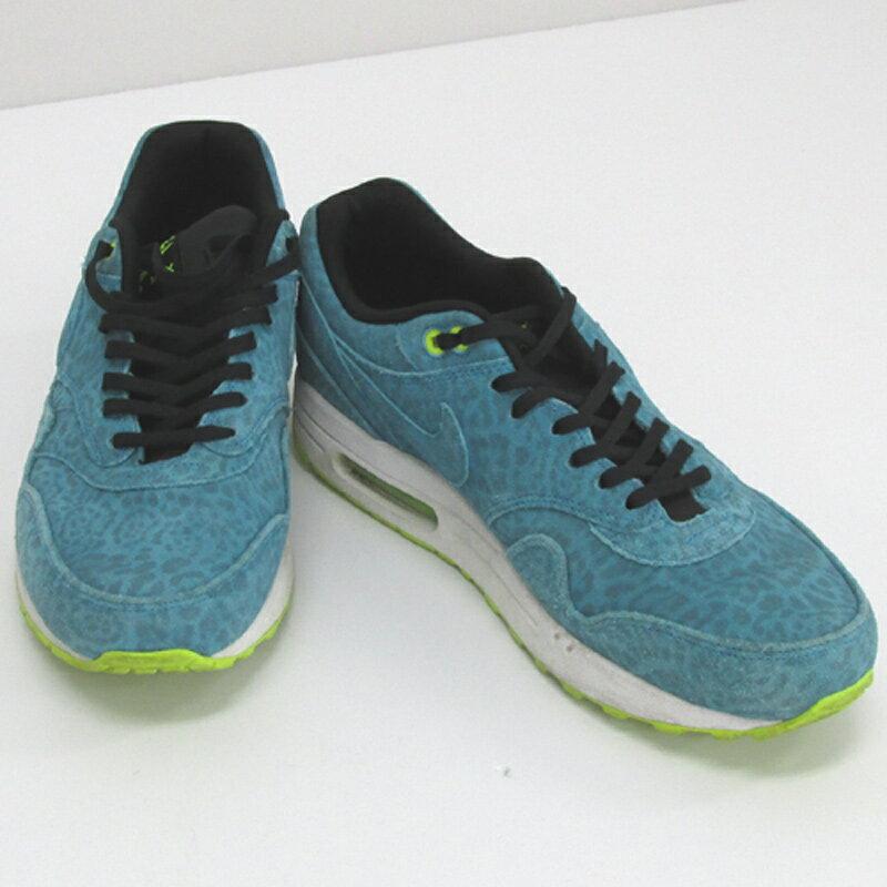【中古】【メンズ古着】NIKE ナイキ AIR MAX 1 FB エアマックス/品番:579920-440/サイズ:28cm/カラー:ライトブルー/スニーカー/靴 シューズ【山城店】