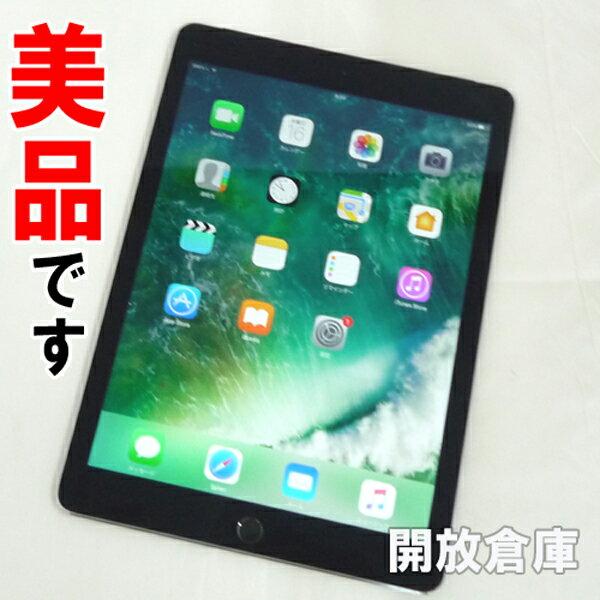 【中古】美品です au版 Apple iPad Air 2 Wi-Fi+Cellular 16GB スペースグレイ MGGX2J/A 【利用制限:○】【iOS 10.3.2】【タブレットPC】【山城店】