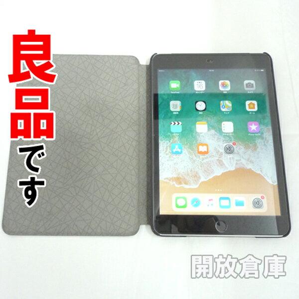 【中古】良品です SIMフリー版 Apple iPad mini 3 Wi-Fi+Cellular 128GB スペースグレイ MGJ22TH/A 【利用制限:-】【iOS 11.3】【タブレットPC】【山城店】