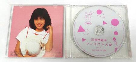 【中古】三井比佐子ワンダフル天使(チャコ)/邦楽【CD部門】【山城店】