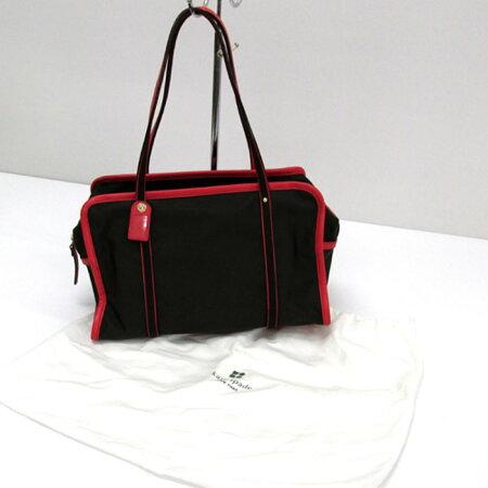 【中古】【レディース古着】KateSpadeケイトスペードショルダーバッグカラー:ブラウン×レッド/バッグ鞄【山城店】