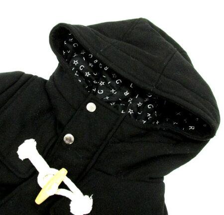 【中古】【レディース古着】X-girl エックスガール ダッフル コート サイズ:1/カラー:BLACK/アウター【山城店】