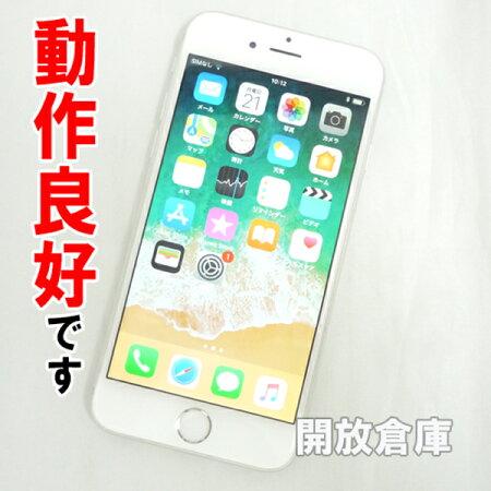 【中古】動作良好です au Apple iPhone6 64GB MG4H2J J/A シルバー【白ロム】【352075065040442】【利用制限: ○】【iOS 11.2.6】【スマホ】【山城店】