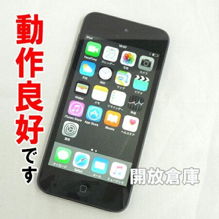 【中古】動作良好ですiPodtouch64GBブラック第5世代MD724J/A【CCQJN2B0F4K5】【iOS9.2.1】【ポータブルプレイヤー】【DAP】【山城店】
