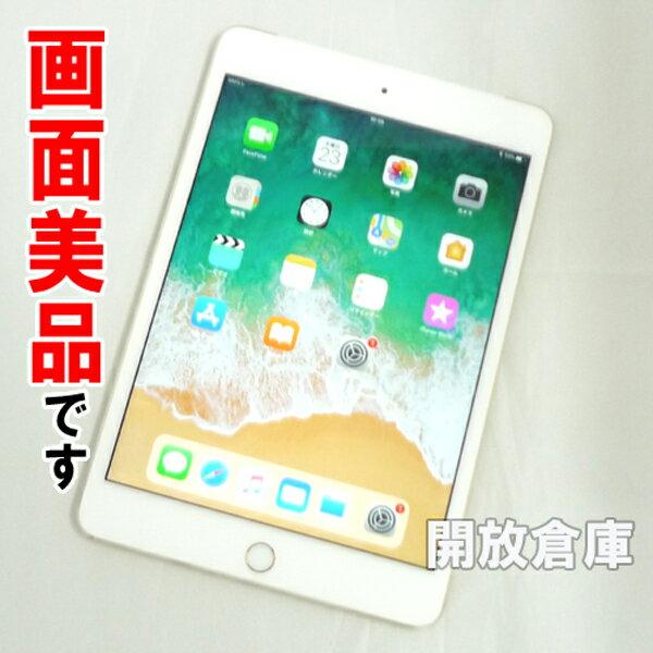 【中古】画面美品です au版 Apple iPad mini4 Wi-Fi+Cellular 16GB ゴールド MK712J/A 【利用制限:○】【iOS 11.2.6】【タブレットPC】【山城店】