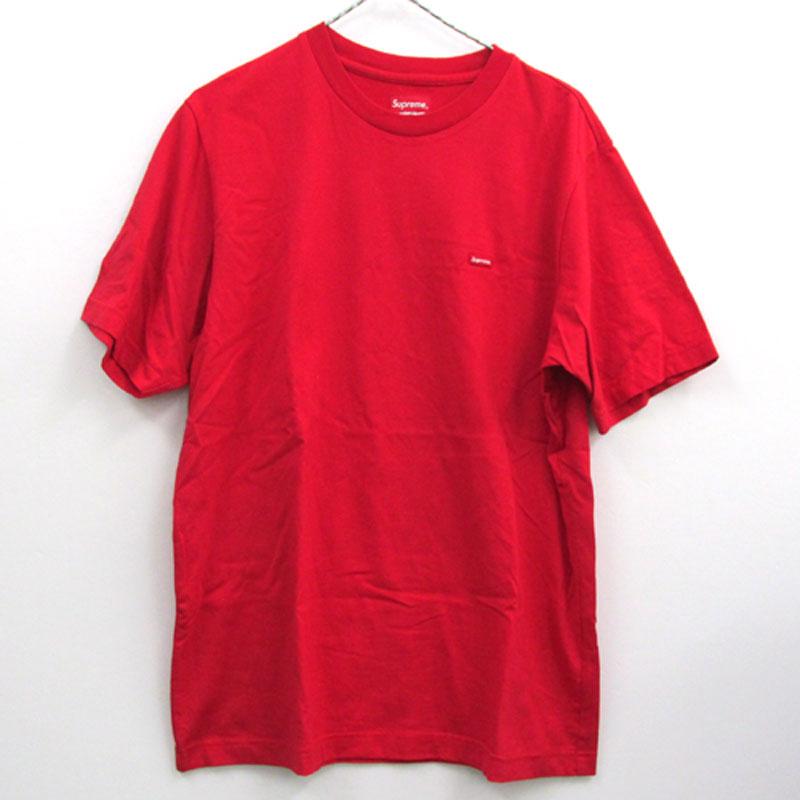 【中古】【メンズ古着】Supreme シュプリーム Small Box Logo Tee スモールボックスロゴ Tシャツ サイズ:M/カラー:レッド/18SS/ストリート【山城店】