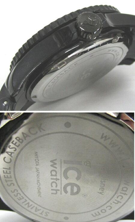【中古】ICE WATCH アイスウォッチ DISNEY ディズニー 腕時計/カラー:ブラック/コラボ/ミッキーマウス 《腕時計/ウォッチ》【服飾小物】【山城店】