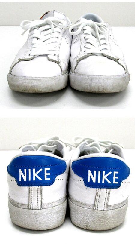 【中古】【メンズ古着】NIKE×fragmentナイキ×フラッグメントAIRZOOMTENNISCLASSIC/27cm/ホワイト/スニーカー/靴シューズ【山城店】