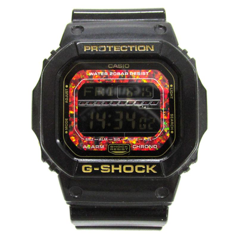 【中古】CASIO G-SHOCK(カシオ ジーショック) Reflex Dial Series(リフレックスダイヤル) 腕時計/品番:GLS-5600KL カラー:ブラック《腕時計/ウォッチ》【服飾小物】【山城店】