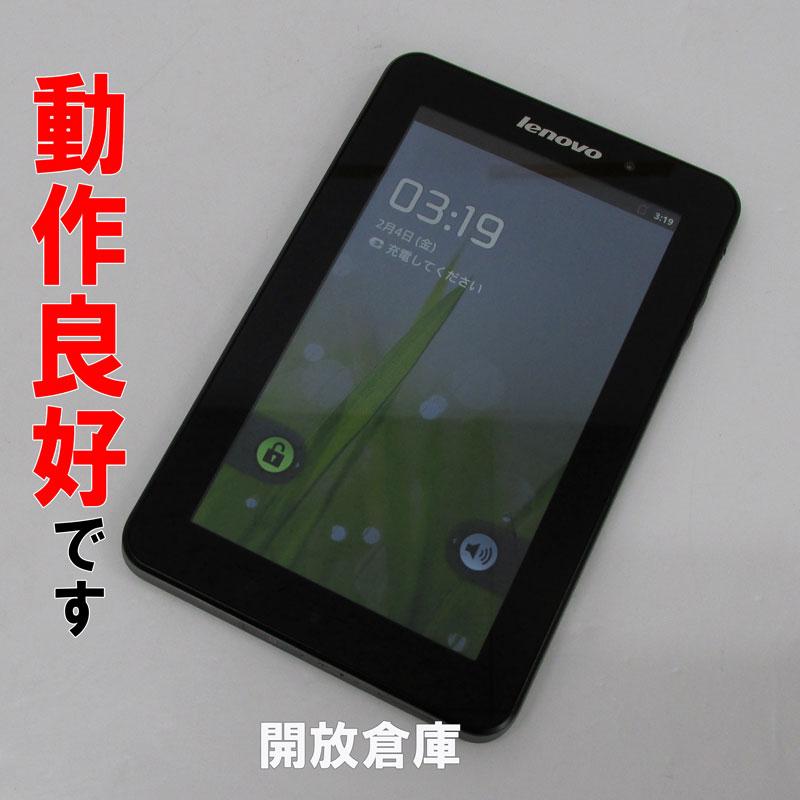 【中古】 Lenovo Lenovo Lenovo IdeaPad Tablet A1 シリーズ 7.0型 カーボンブラック【白ロム】【FB00442196】【利用制限: Wi-Fi専用】【Android 2.3.4】【タブレットPC】【山城店】