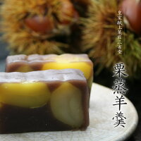 贅沢蒸羊羹菓匠三省堂『栗蒸羊羹』