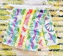 ○o。ハワイアン グラデーション シェル フェイスタオル 綿100% 34×83cm ミックス ハワイアンインテリア 出産祝い …