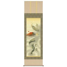 【開運掛軸】十二神将昇竜図(尺五)