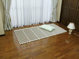 日本製 すのこベッド エアースリープ (100×201×高3cm)プラスチック製 折り畳み コンパクト収納 スノコベッド蝶プラ工業