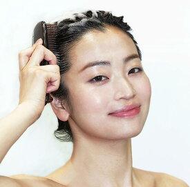 【最新モデル】スカルプブラシCOM ハード(グレー)(硬さ:かため) 髪の長さ(ミディアム ロング用)エスハートエス株式会社 S・HEART・S頭皮ケア 頭皮マッサージ スカルプブラシコム