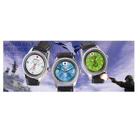自衛隊正式エンブレム採用腕時計防衛庁自衛隊陸、海、空の協力により実現自衛隊員も愛用時計(rs3)
