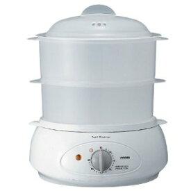 *ツインバード/フードスチーマー SP-4137W 水溶性ビタミンが溶け出しにくいので、とってもヘルシー。
