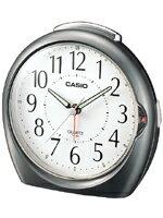 カシオ 置時計 TQ378-8JF 止めてもまた鳴るスヌーズ機能とライト機能を搭載したベルアラームクロックです。【CASIO カシオ アナログ 目覚まし時計 置時計 大音量 アラーム デジタル時計よりオススメ!旅行機能通販メンズレディースキッズ大人子供】