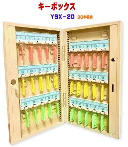 キーボックス 30個収納 壁掛け 鍵収納 鍵保管 鍵管理 即日出荷 キーケース キーロッカー セキュリティー YSX-20 【あす楽】