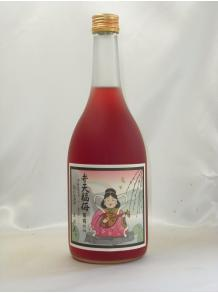 【河内ワイン】弁天福梅・葡萄仕込 720ml 12.4度