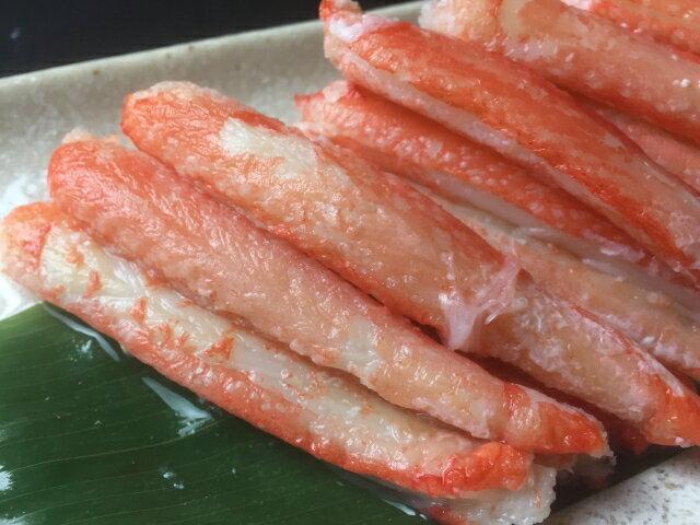 冷凍 ボイルズワイガニ 棒肉 300g(30本入り) ずわいがに 蟹 カニ むき身 足 脚 簡単調理 【当店オススメ】